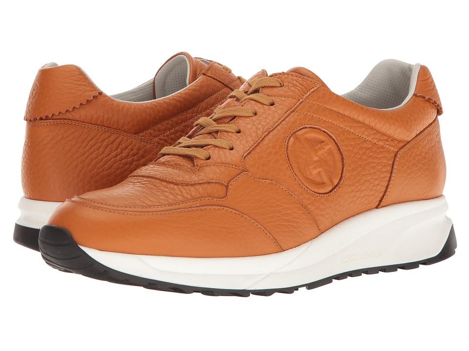 Giorgio Armani - Logo Sneaker (Namibia) Men's Shoes