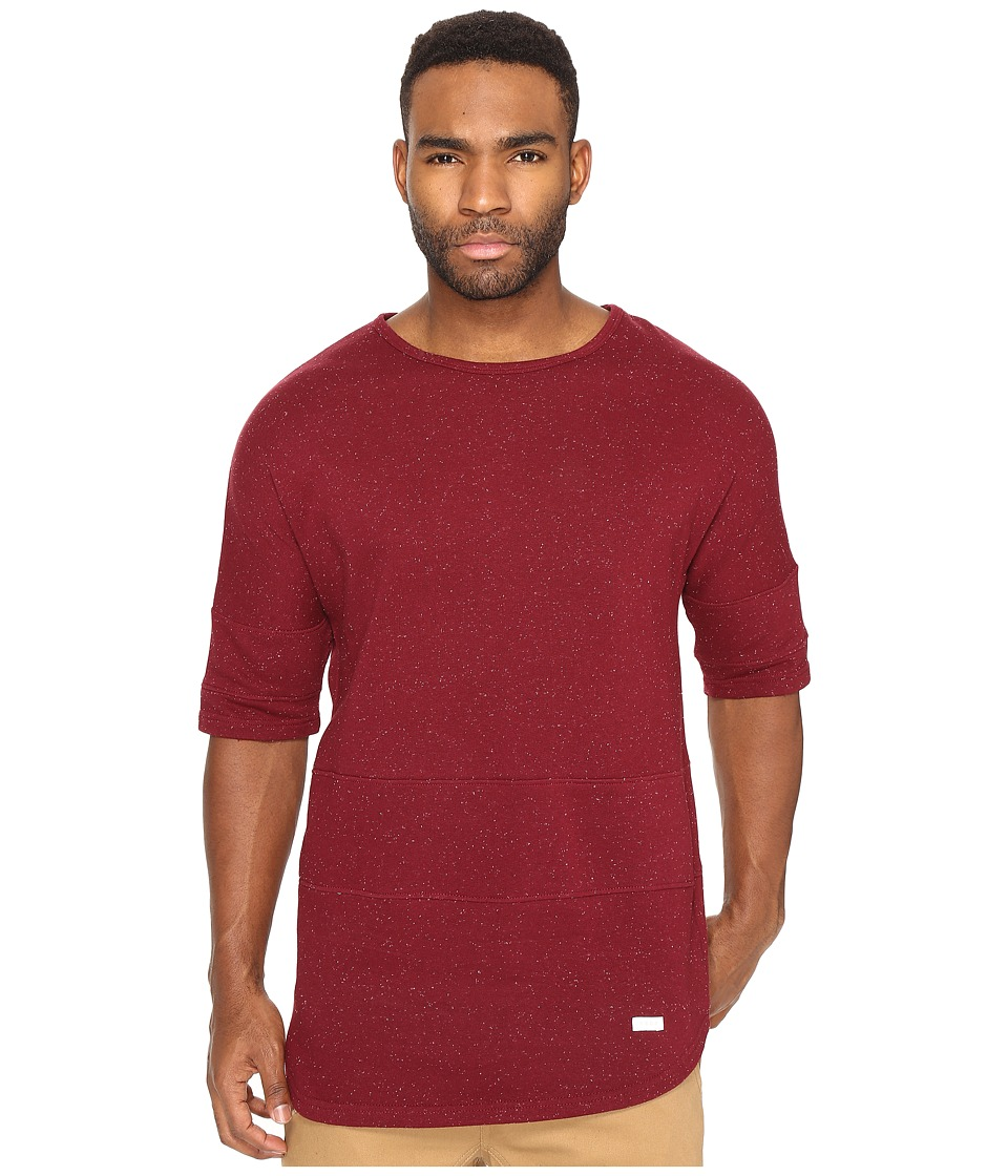 Akomplice - Epple Elongated Sleeve (Maroon) Men's T Shirt