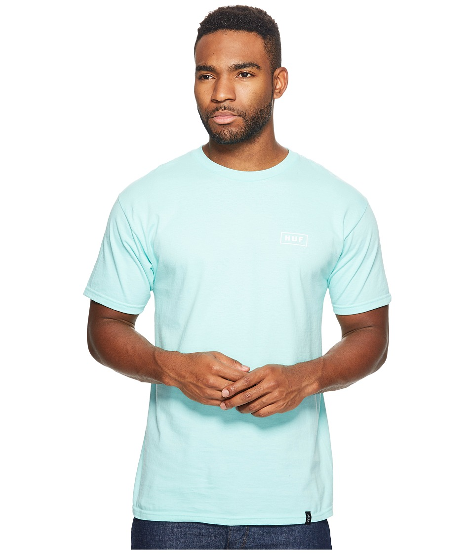 HUF - Puff Bar Logo Tee (Celadon) Men's T Shirt