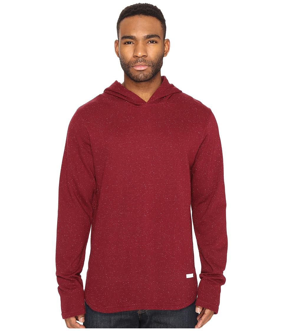 Akomplice - Epple Hoodie (Maroon) Men's Sweatshirt