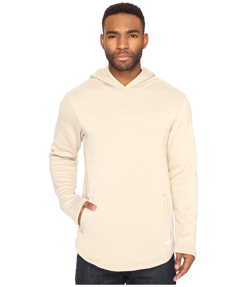 Akomplice - Mendoza Fleece Hoodie (Ash/Tan) Men's Sweatshirt