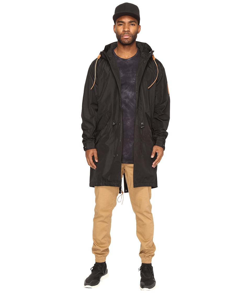 Akomplice - Mickey Trench (Black) Men's Coat