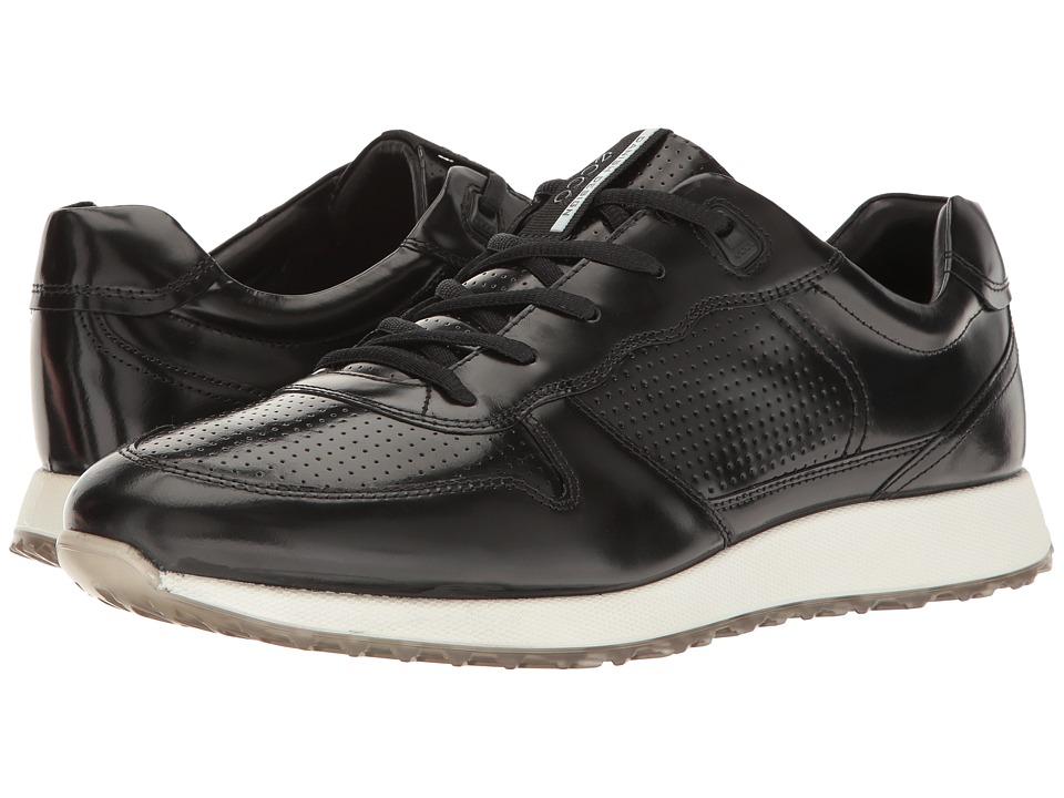 ECCO - Sneak (Black) Men's Lace up casual Shoes