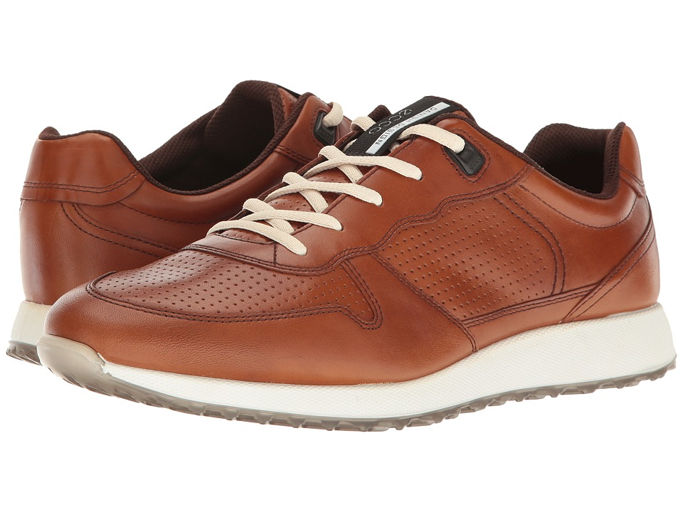 ECCO - Sneak Trend (Amber) Men's Lace up casual Shoes