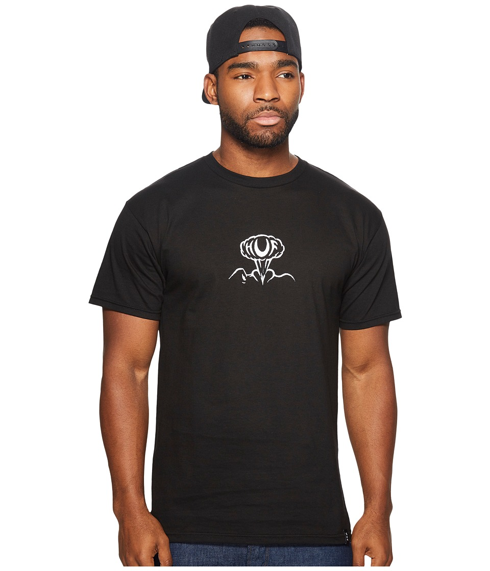 HUF - Smokin Tee (Black) Men's T Shirt