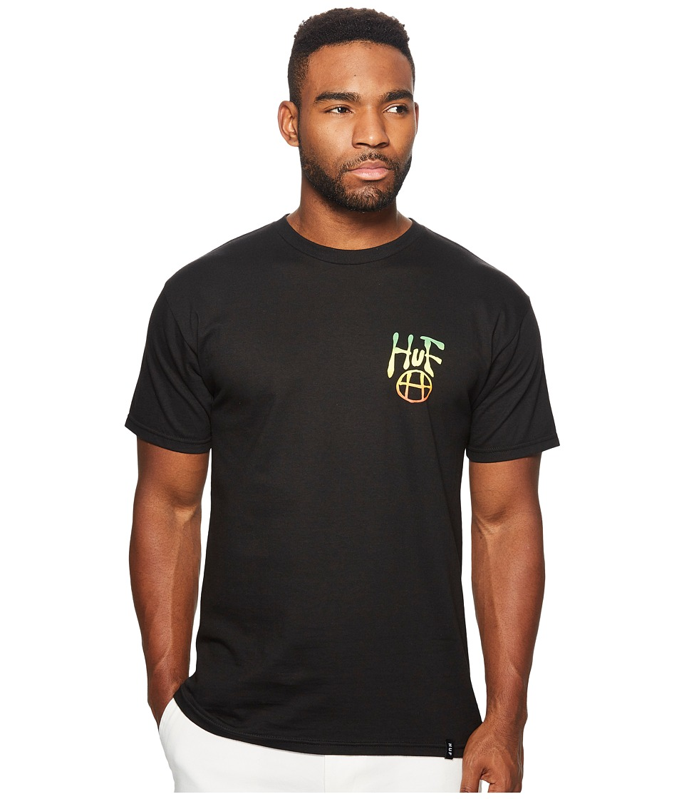 HUF - Napalm Tee (Black) Men's T Shirt