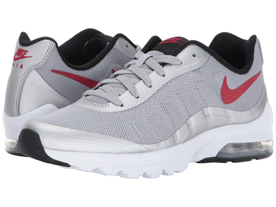 Nike - Air Max Invigor (Wolf Grey/Varsity Red/Black/White) Men's Cross Training Shoes