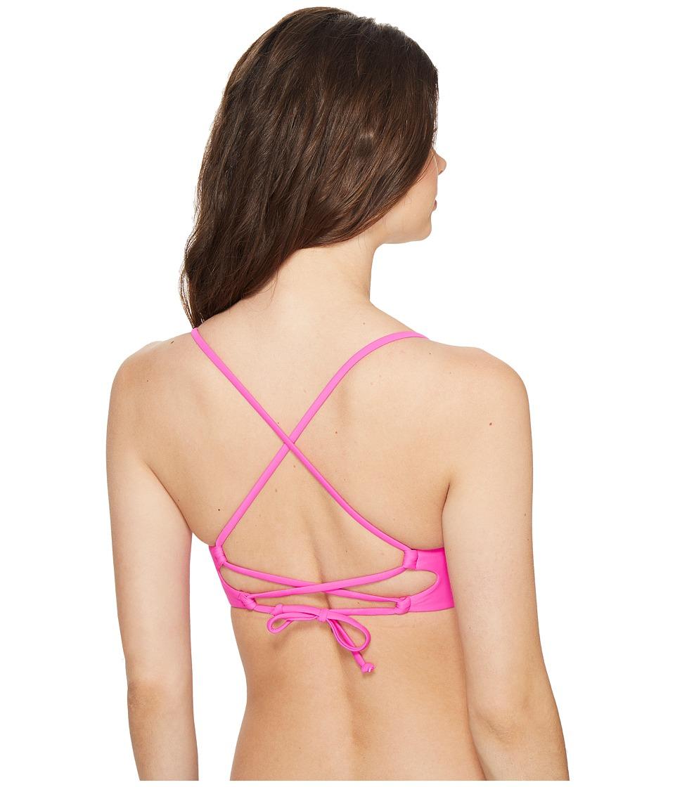 Body Glove - Smoothies Mika Top (Flamingo Pink) Women's Swimwear