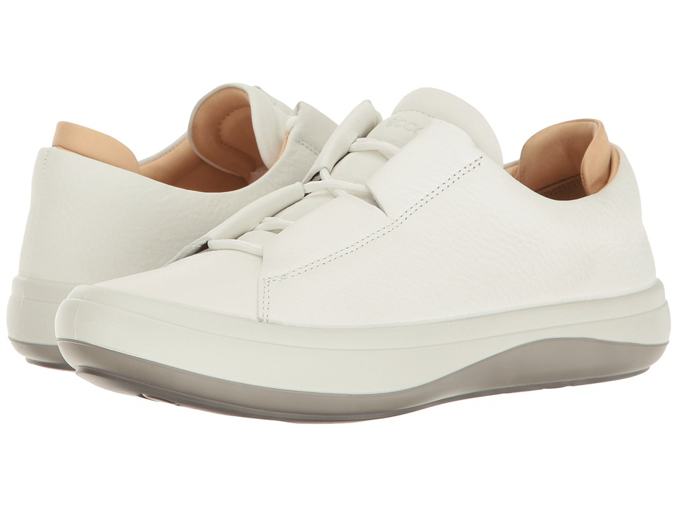 ECCO - Kinhin (White/Vegetable Tan) Women's Lace up casual Shoes