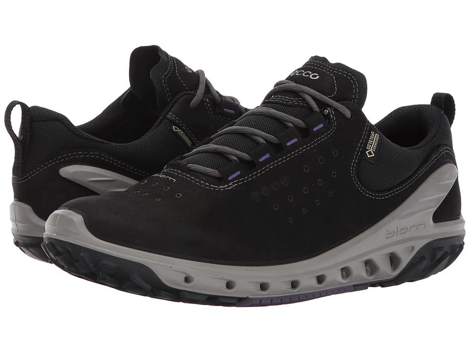 ECCO Sport - Biom Venture GTX Tie (Black/Black) Women's Running Shoes