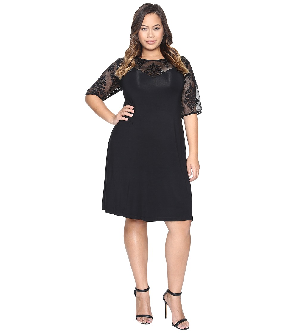 Tart Plus Size Jessar Dress (Black) Women