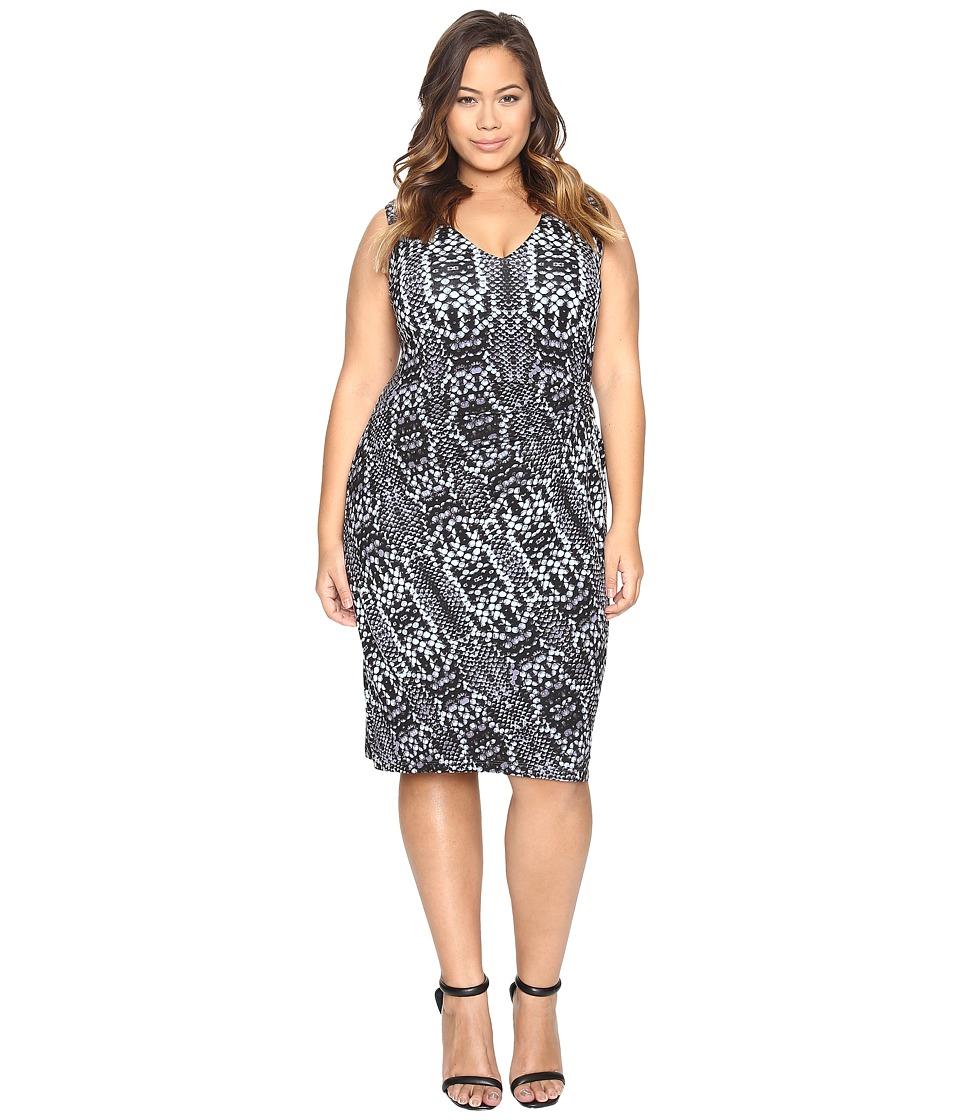 Tart Plus Size Margaux Dress (Python Tintype) Women