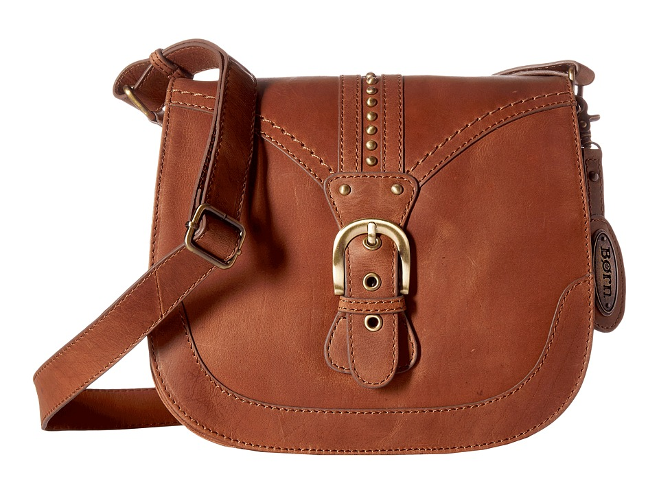 Born - Canolo Saddle Bag (Saddle) Handbags