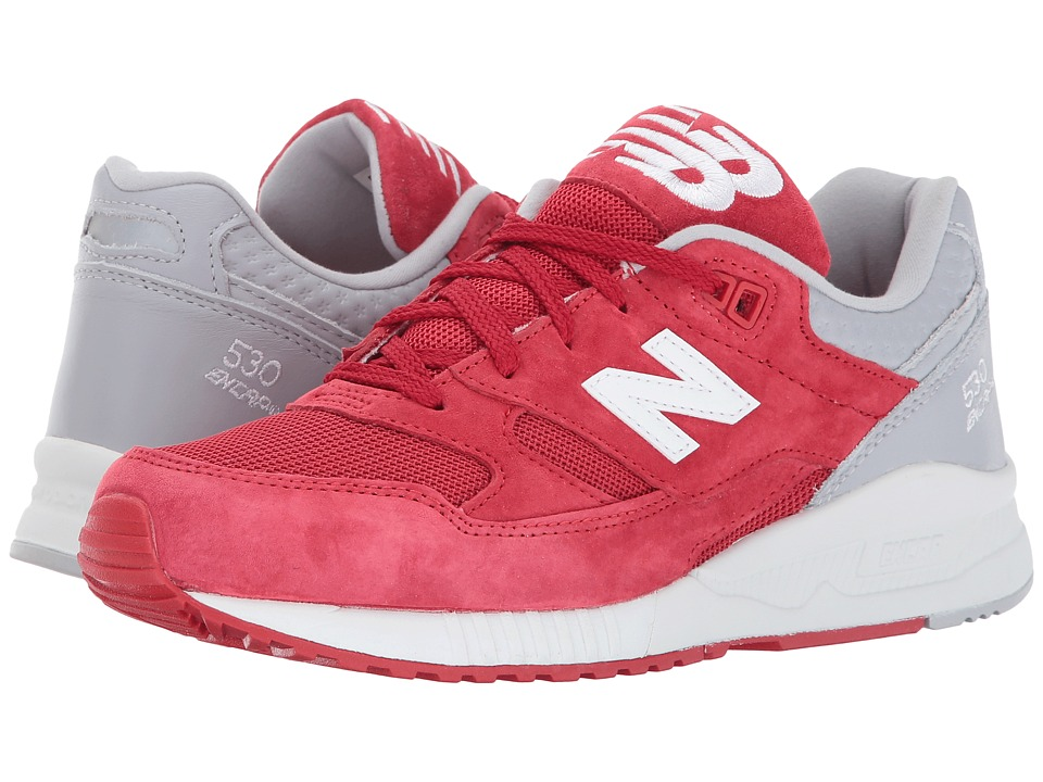 New Balance Classics - M530 (Red/Grey) Men's Classic Shoes