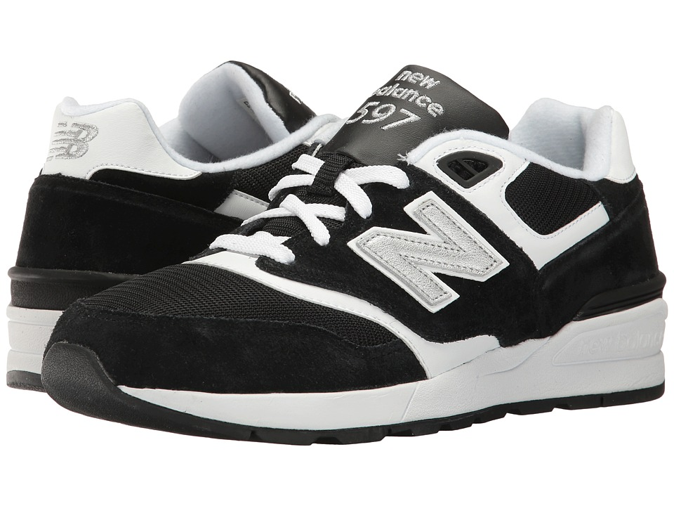 New Balance Classics - ML597 (Black/White) Men's Classic Shoes