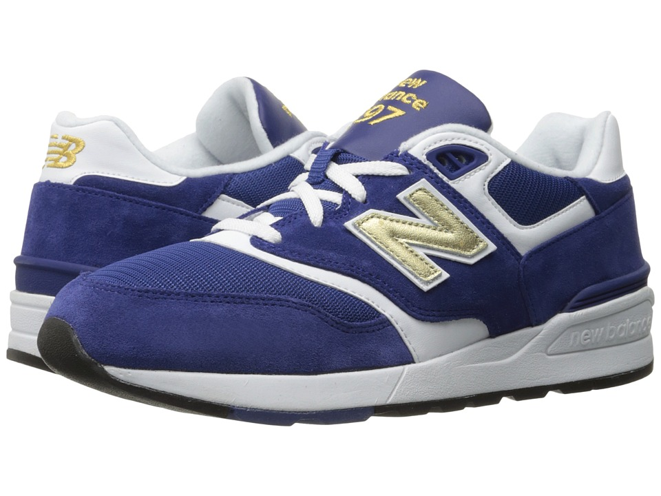 New Balance Classics - ML597 (Navy/White) Men's Classic Shoes