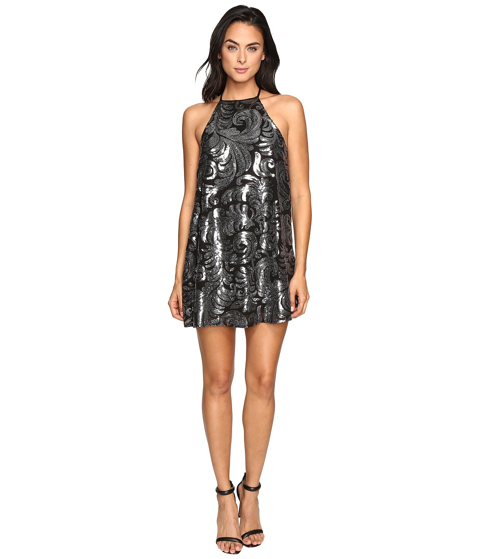 Show Me Your Mumu - Gomez Mini Dress (Crystal Crown Black 1) Women's Dress