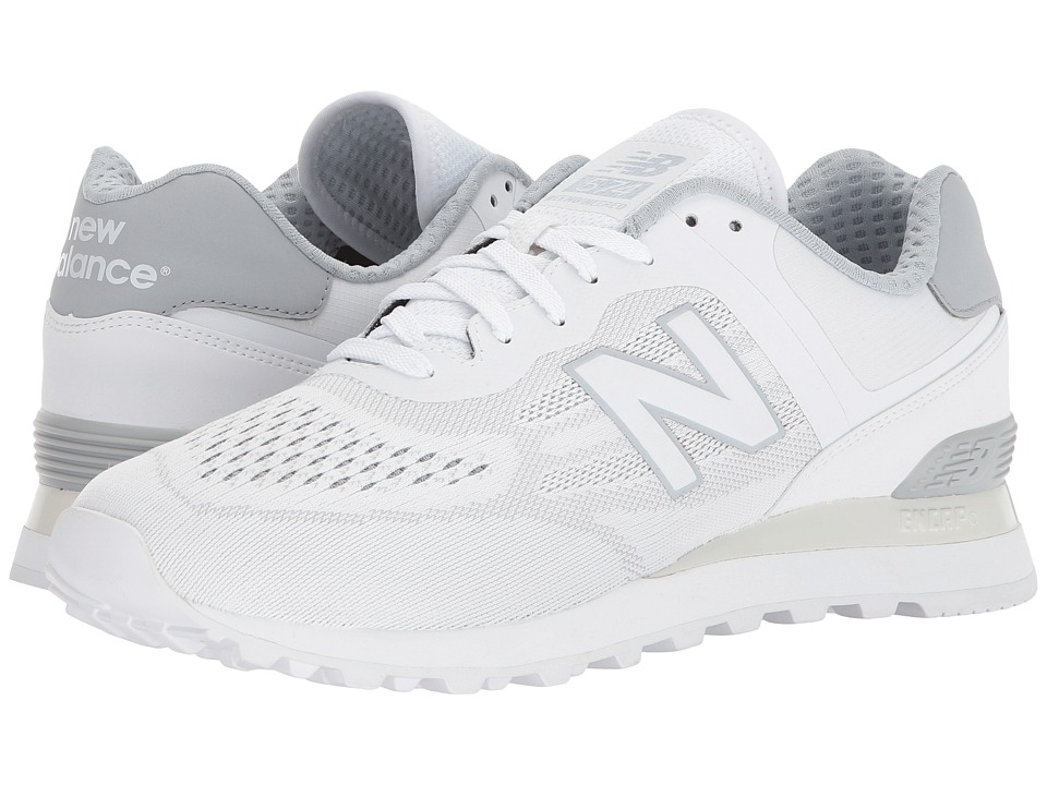 New Balance - MTL574 (White/Silver Mink) Men's Shoes