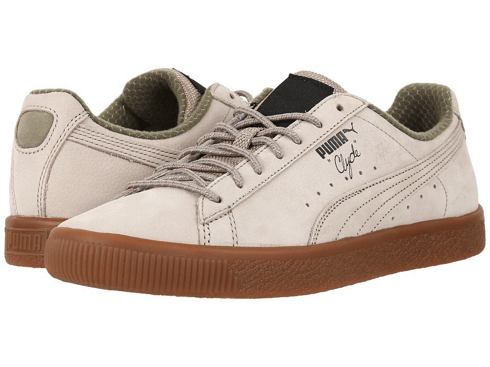 PUMA - Clyde Winter (Vintage Khaki/Puma Black) Men's Shoes