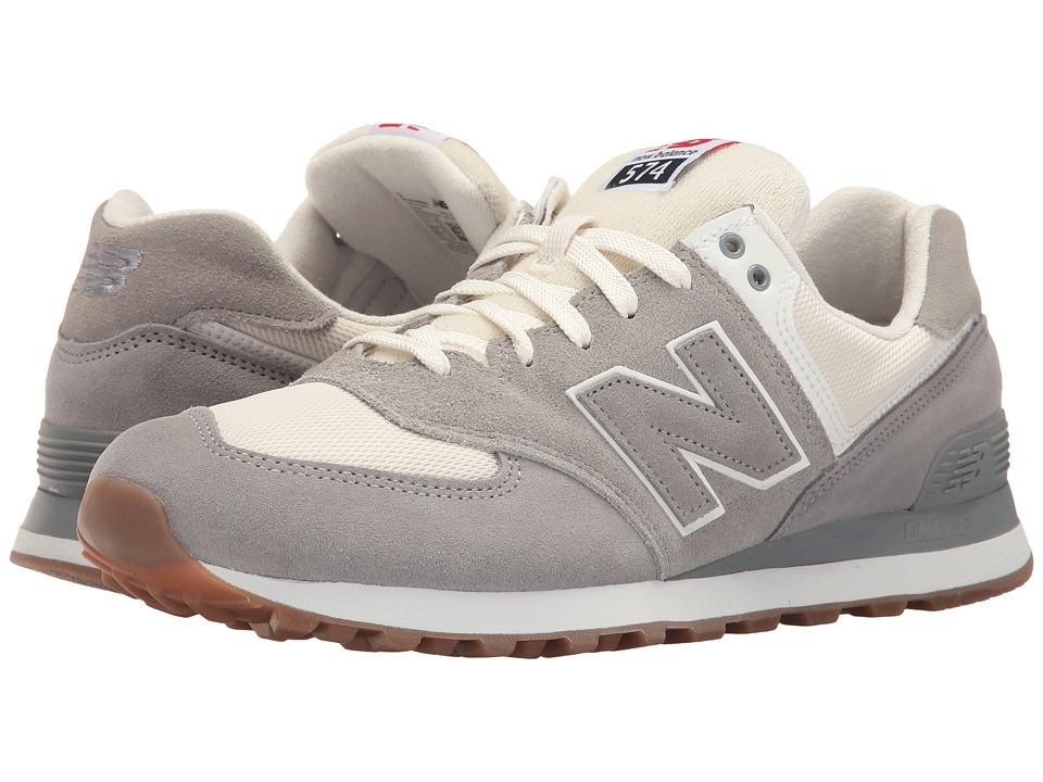 New Balance - ML574 - Retro Sport (Steel/Silver Mink) Men's Shoes