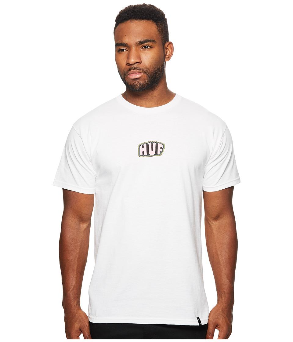 HUF - Good Times Tee (White) Men's T Shirt