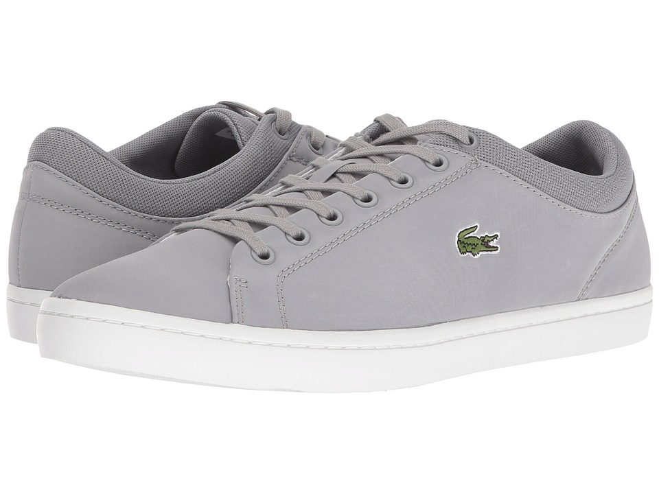Lacoste Straightset SPT 216 1 Grey Mens Shoes