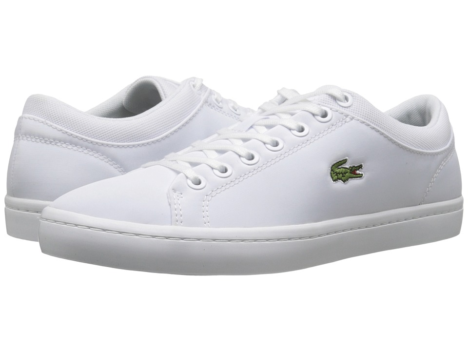 Lacoste - Straightset SPT 216 1 (White) Men's Shoes