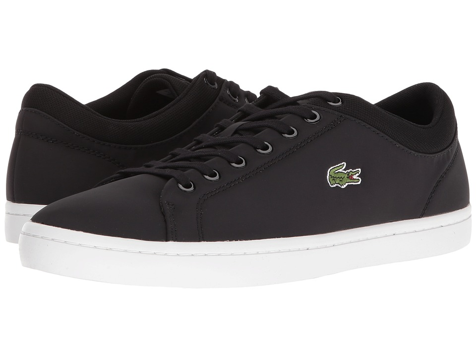 Lacoste - Straightset SPT 216 1 (Black) Men's Shoes