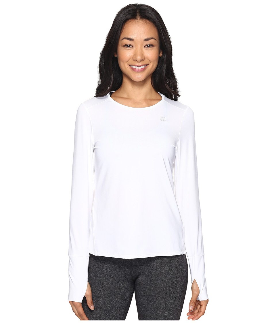 Eleven by Venus Williams - Thika Xtreme Long Sleeve (White) Women's Long Sleeve Pullover