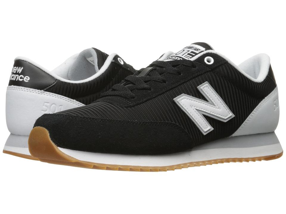 New Balance Classics MZ501 (Black/White) Men