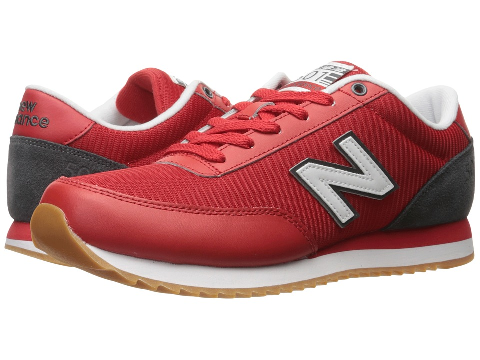 New Balance Classics - MZ501 (Red/Grey) Men's Shoes