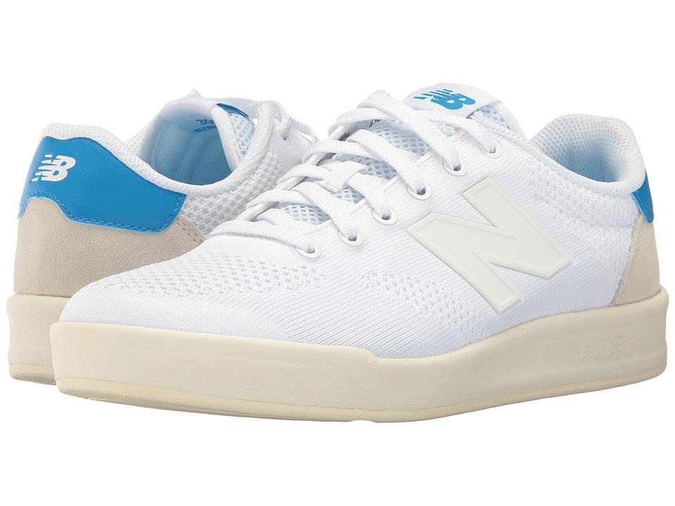 New Balance Classics - CRT300 (White/Blue 2) Men's Classic Shoes