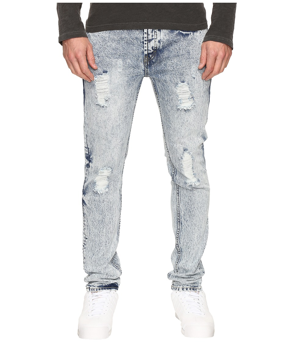 Publish - Dennon - Distressed Denim (Light Indigo) Men's Jeans