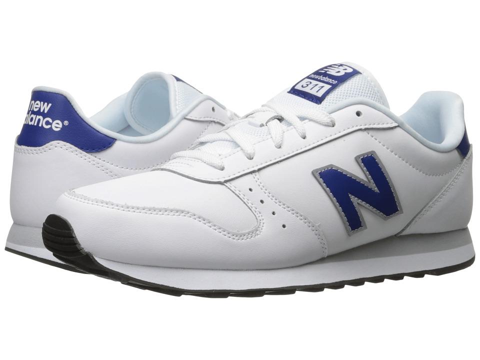 New Balance Classics - ML311 (White/Navy) Men's Shoes