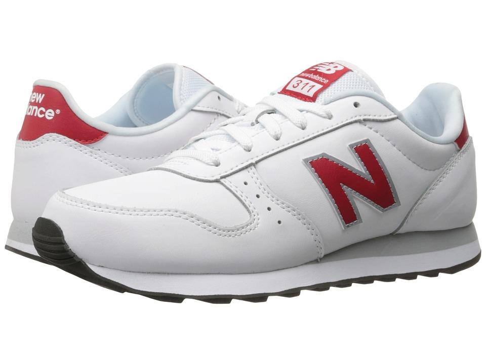 New Balance Classics - ML311 (White/Red) Men's Shoes