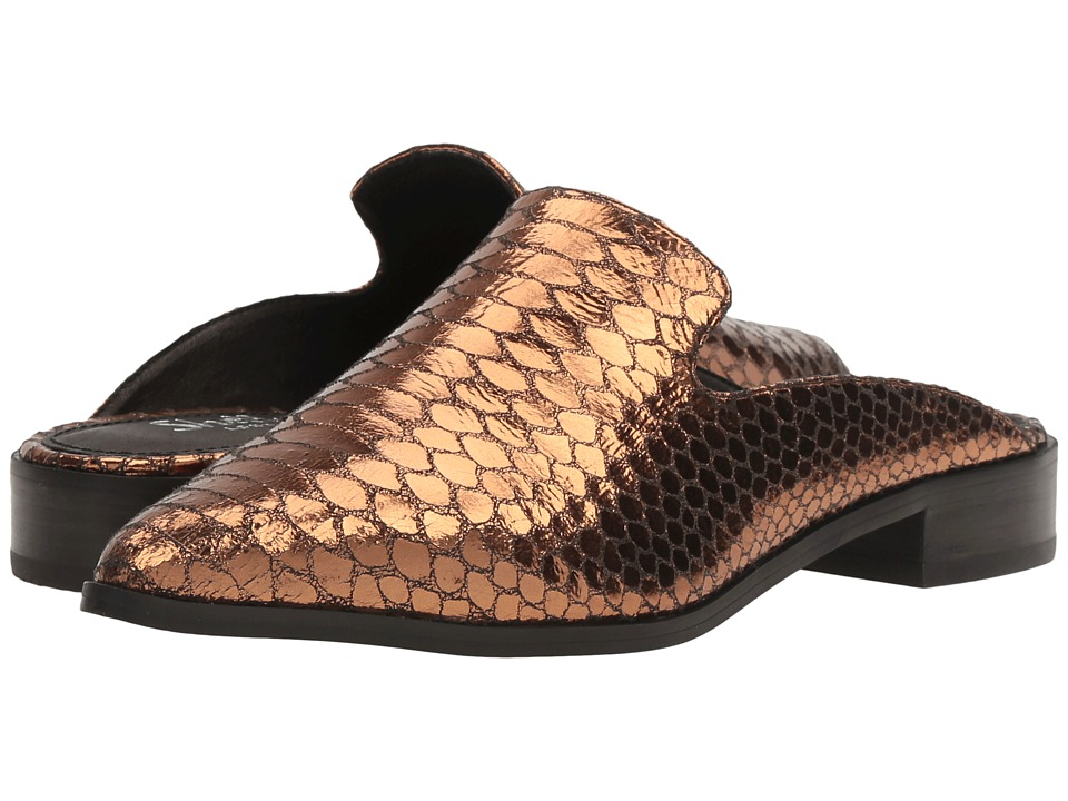 Shellys London - Cantara Mule (Bronze) Women's Flat Shoes