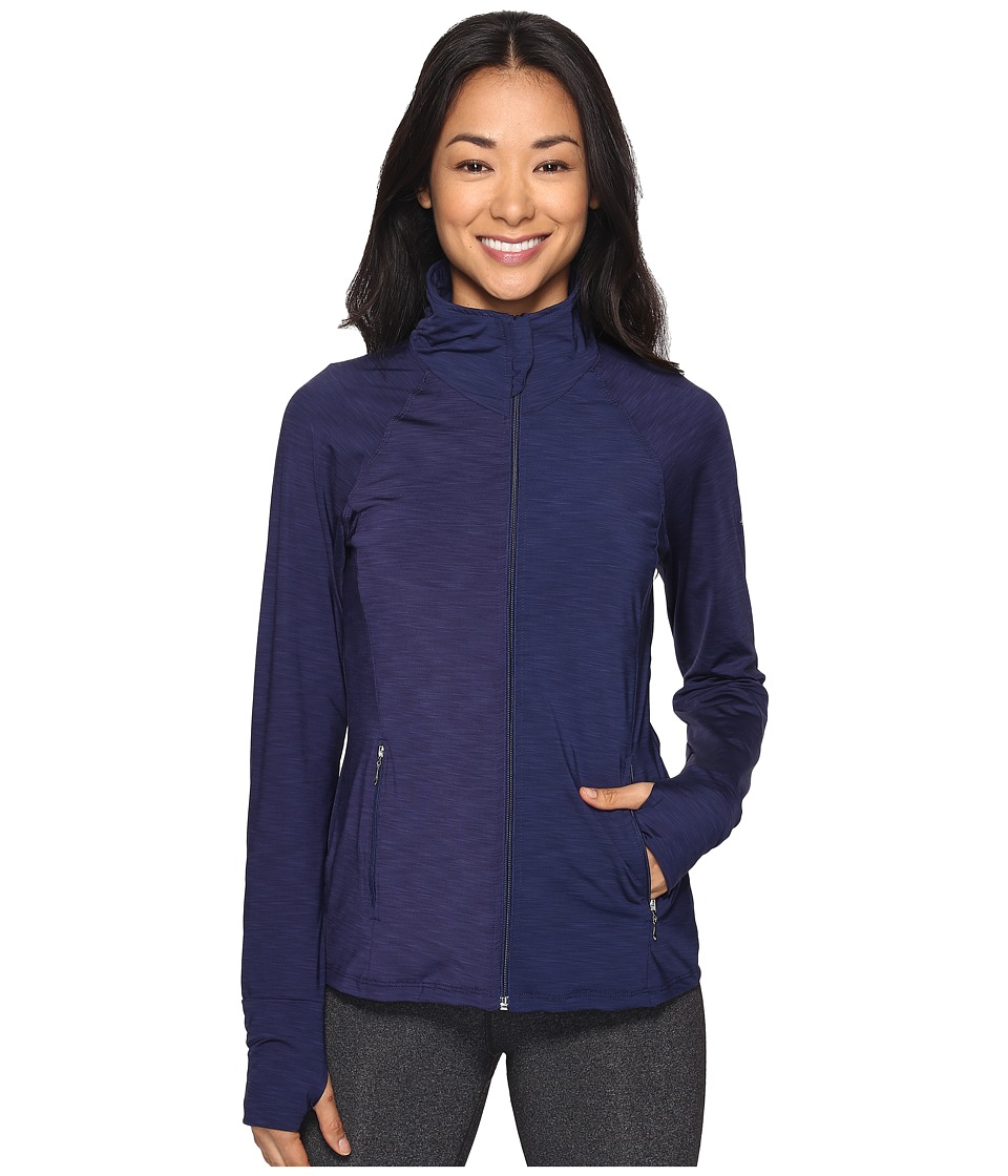 Eleven by Venus Williams - Thika Finish Line Jacket (Blue Nights) Women's Coat