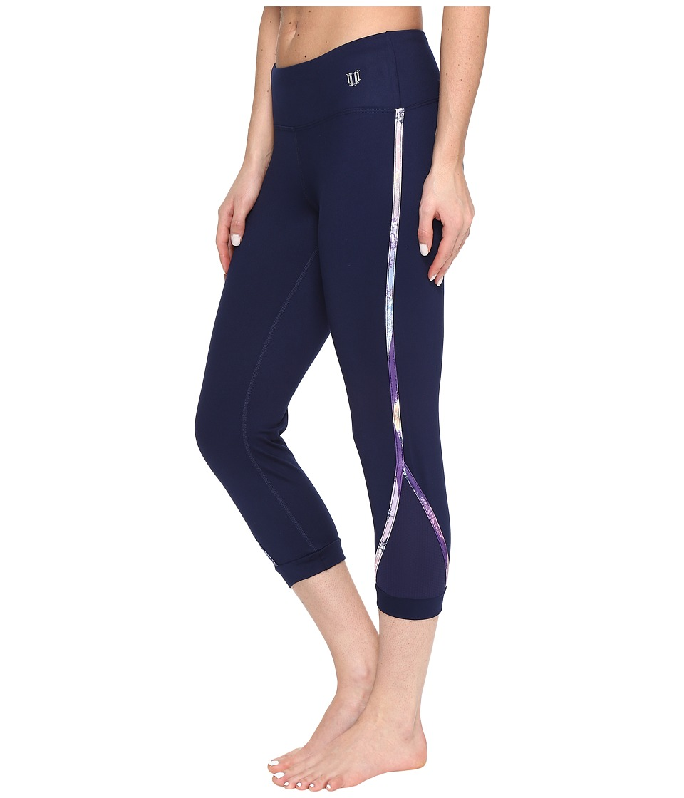 Eleven by Venus Williams Thika Agility Capris (Blue Nights) Women