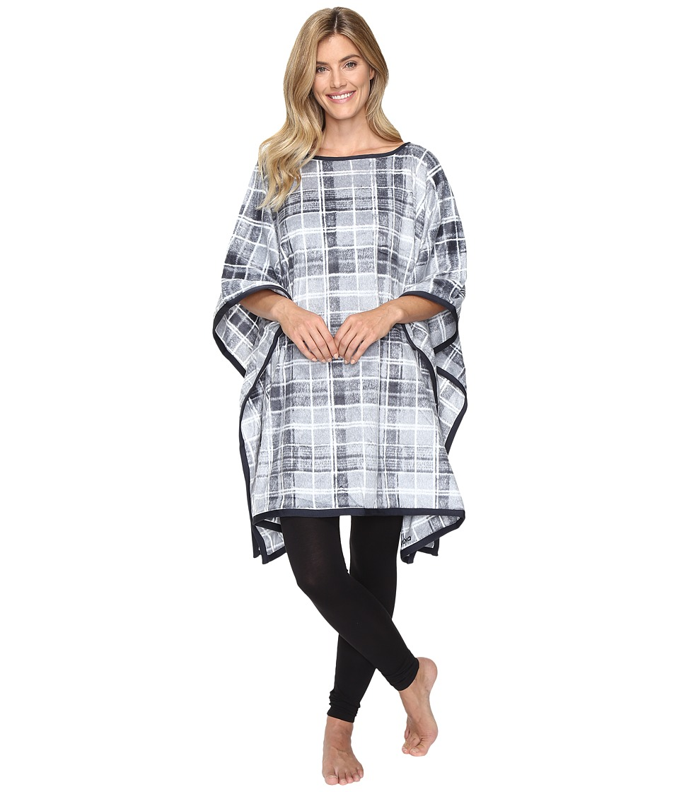 DKNY - Poncho with Eyemask (Grey Multi) Women's Pajama