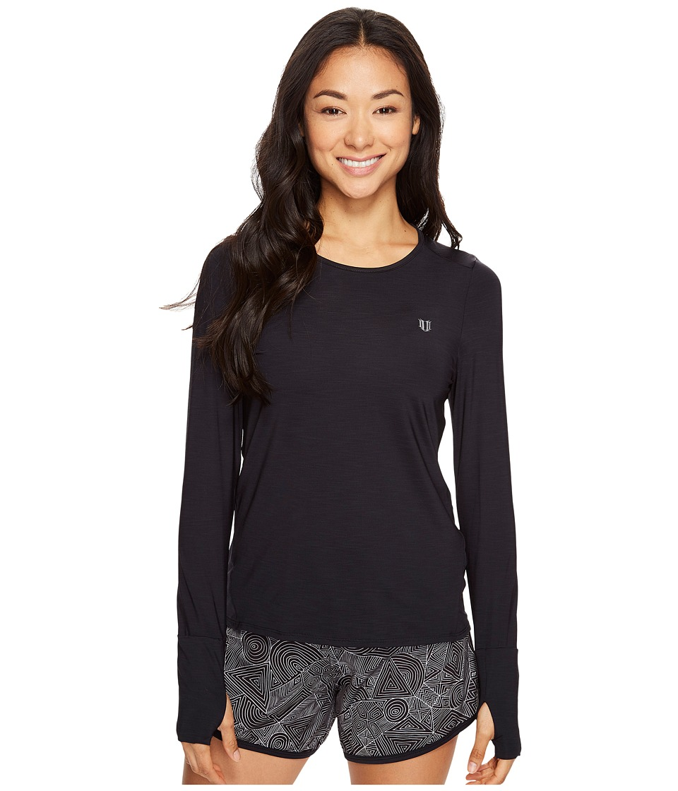 Eleven by Venus Williams Intrepid Xtreme Long Sleeve (Black) Women