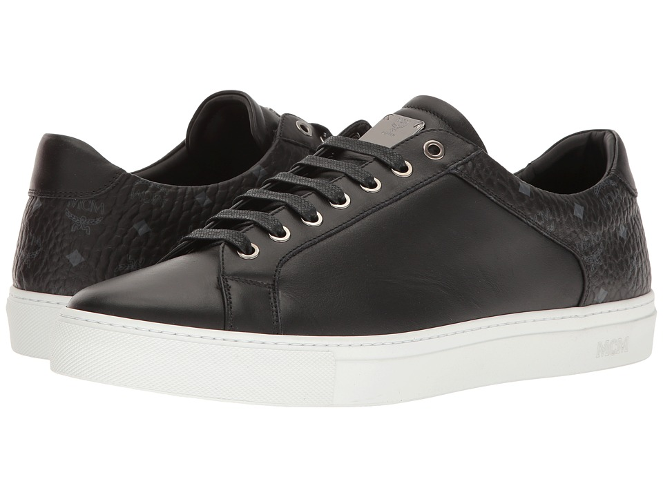 MCM - Low Top Sneaker (Black) Men's Shoes