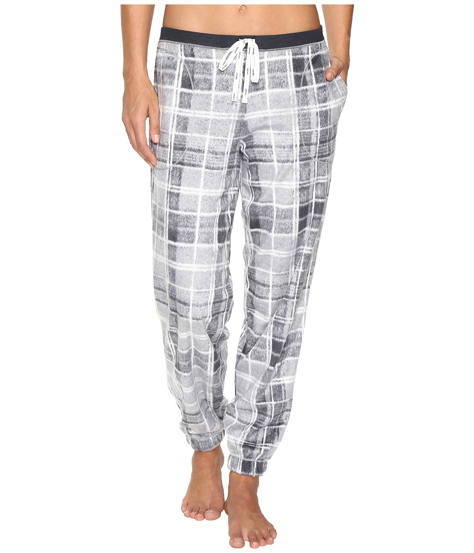 DKNY - Fleece PJ Pants (Grey Multi) Women's Pajama
