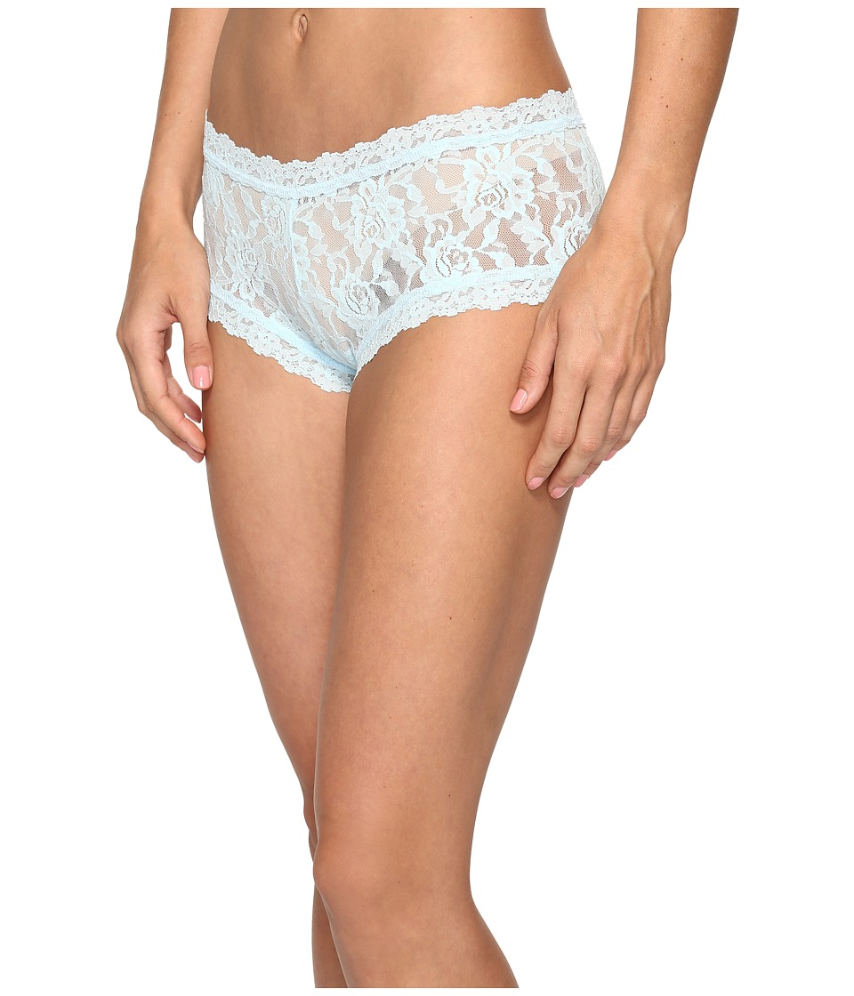 Hanky Panky - Signature Lace Boyshort (Celeste Blue) Women's Underwear