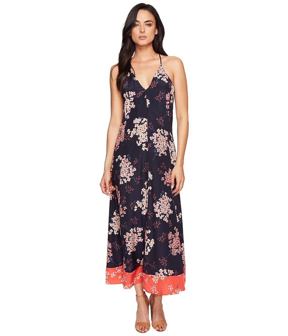 Rebecca Taylor Sleeveless Philox Maxi Dress (Dark Navy) Women