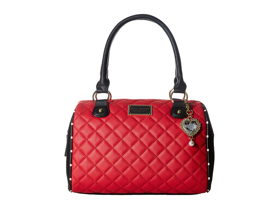 Betsey Johnson - Satchel (Red) Satchel Handbags