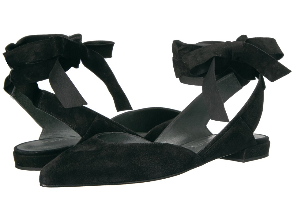 Stuart Weitzman - Supersonic (Black Suede) Women's Shoes