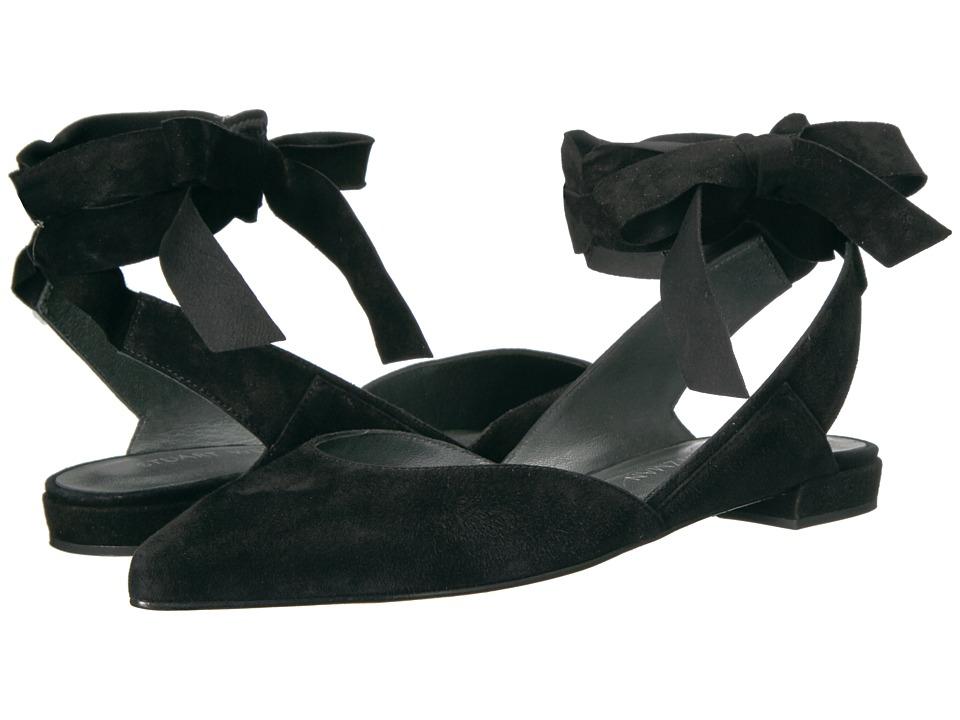 Stuart Weitzman - Supersonic (Black Suede) Women's Shoes