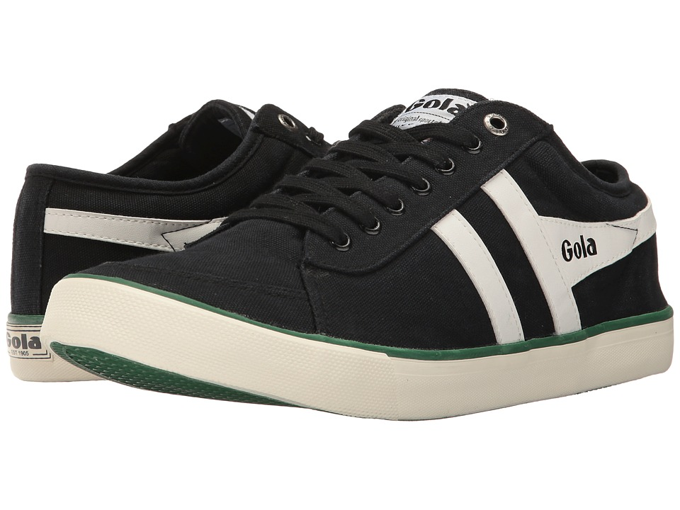 Gola - Comet (Black/Off-White/Green) Men's Shoes