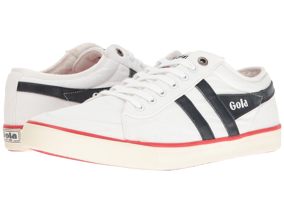 Gola - Comet (White/Navy/Red) Men's Shoes