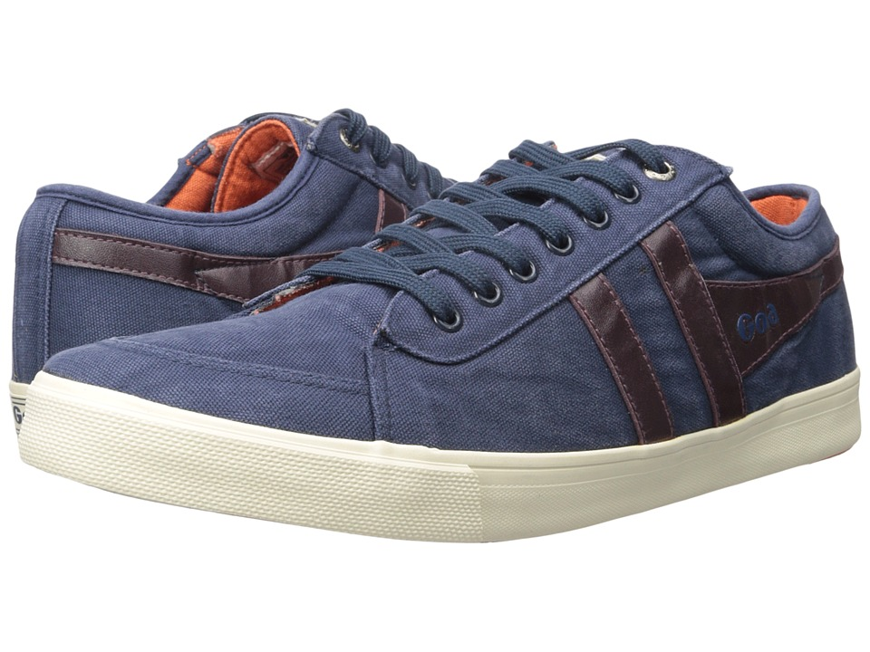 Gola - Comet (Navy/Burgundy/Orange) Men's Shoes